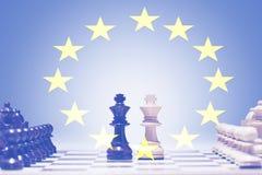 Europeisk schacklek Royaltyfri Fotografi