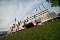 Europeisk slott i Strasbourg Royaltyfria Foton