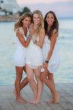 Europeisk tonår på ferie royaltyfri bild