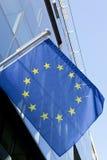 europeisk vlag Royaltyfri Bild