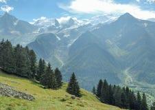 Europeiska berg av fjällängarna Arkivfoton
