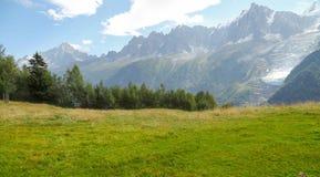 Europeiska berg av fjällängarna Royaltyfri Foto