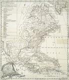 Europeiska bosättningar i Americasna Arkivbild