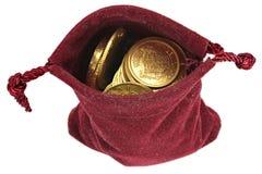 Europeiska guld- mynt Royaltyfria Foton