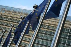 europeiska huvudkontor Royaltyfria Bilder