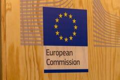 Europeiska kommissionen på marknaden för film för Berlinale ` s EFM den europeiska Arkivbilder