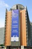 Europeiska kommissionenhuvudbyggnad Arkivbilder