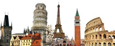 europeiska landmarks Arkivfoton