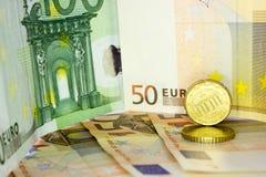 Europeiska pengar 10 Royaltyfria Foton