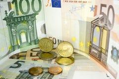 Europeiska pengar 16 Fotografering för Bildbyråer