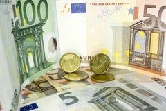 Europeiska pengar 19 Fotografering för Bildbyråer