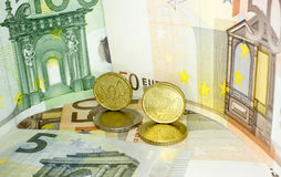 Europeiska pengar 17 Royaltyfri Fotografi