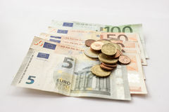 Europeiska pengar 27 royaltyfri fotografi