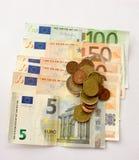 Europeiska pengar 30 royaltyfri fotografi