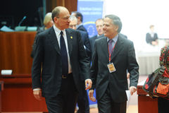 Europeiska rådettoppmöte Arkivfoto