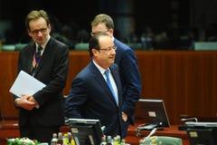 Europeiska rådettoppmöte Arkivfoton