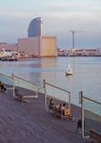 Europeiska städer, Barcelona Arkivbilder