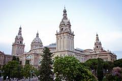 Europeiska städer, Barcelona Arkivbild