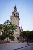 Europeiska städer, Barcelona Royaltyfri Fotografi