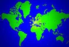 Europeiska union Arkivbilder