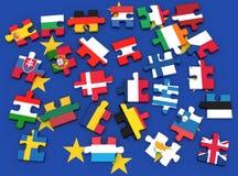 Europeiska union Fotografering för Bildbyråer
