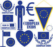 Europeiska union Royaltyfri Foto