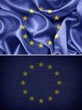Europeiska union sjunker Royaltyfri Bild