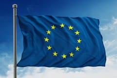 Europeiska union sjunker Arkivbilder
