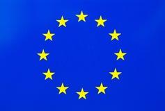 Europeiska union sjunker Royaltyfria Bilder