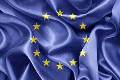 Europeiska union sjunker Royaltyfri Fotografi