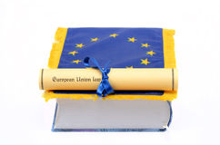 Europeiska unionlag Royaltyfria Bilder