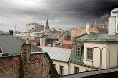europeiskt gammalt för cityscape Arkivbild