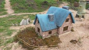 europeiskt hus arkivbild
