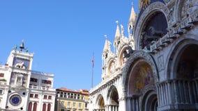 europejczycy Włochy Wenecja Bazylika Di San kościół na St oceny kwadracie zbiory