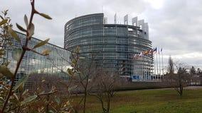 Europejczyk Parlament w Strasburg zdjęcie stock