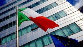 europejczyk zaznacza Italy zjednoczenie Zdjęcia Stock