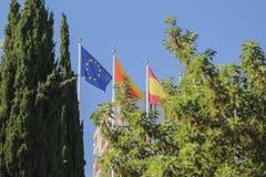 europejczyk zaznacza zjednoczenie Zdjęcia Stock