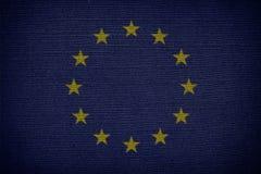 europejczyk zaznacza zjednoczenie UE Zdjęcia Royalty Free