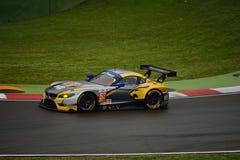 Europejczyka Le Mans serie BMW Z4 GT3 przy Imola 2015 Fotografia Stock