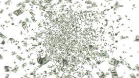 europejczyka spadać pieniądze podeszczowy niebo zdjęcie wideo
