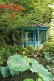 Europejczyka stylowy drewniany dom obrazy stock