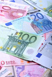 Europejscy banknoty, Euro waluta od Europa, euro Fotografia Stock