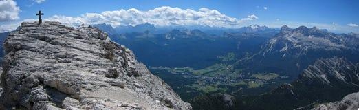 Europejscy dolomity zdjęcie royalty free