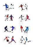 Europejscy futbol kluby Zdjęcia Royalty Free