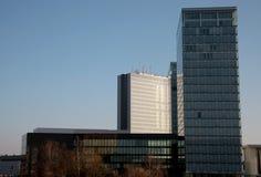 Europejscy instytucja budynki Fotografia Royalty Free