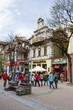 Europejska, café célèbre dans Zakopane Photo stock