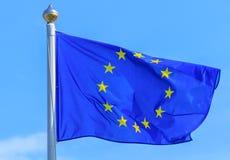 europejska flaga europejskim Obraz Royalty Free