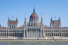 Europejska katedra w Budapest Obraz Royalty Free