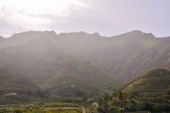 Europejska naturalna wieś w Agaete Gran Canaria Zdjęcie Royalty Free