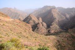 Europejska naturalna wieś w Agaete Gran Canaria Fotografia Royalty Free